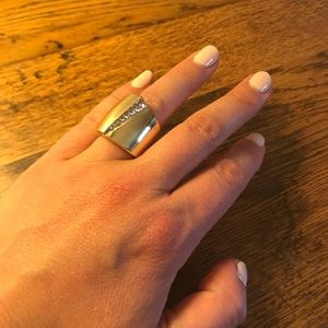 Old Navy Thick Gold Ring